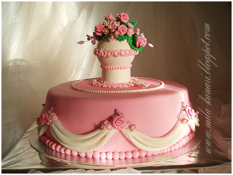 Украшение торта мастикой мастер класс фото