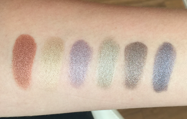 Viseart - #05 Sultry Muse and #06 Paris Nude swatches review
