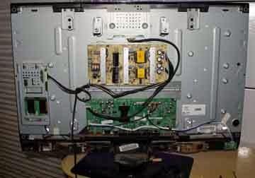 Curso de Eletrônica, Principais defeitos nos televisores LC3246