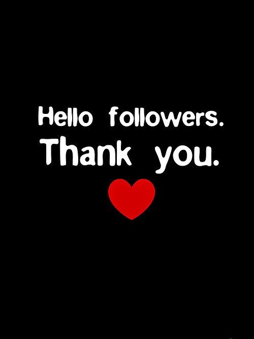 Grateful for my Followers and Subscribers!
