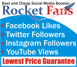 RocketFans.com Your Social Media Booster