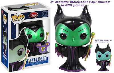 San Diego Comic-Con 2011 Exclusive Maleficent 9 Inch Pop! Disney Vinyl Figure