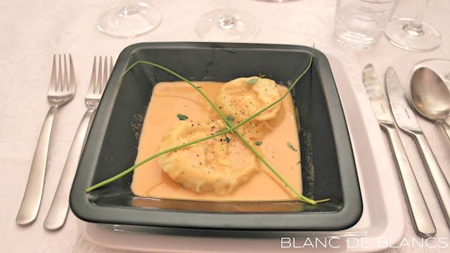 Hummeriravioli - www.blancdeblancs.fi