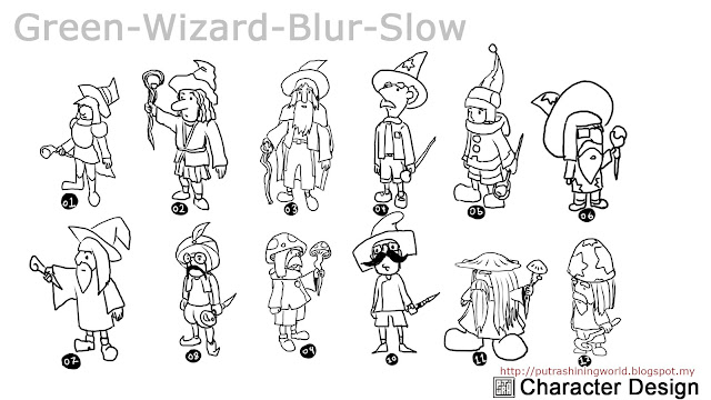 Character Design by Putra Shining
