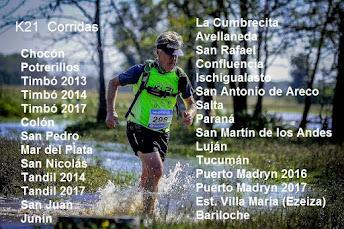 Serie k21 corridas
