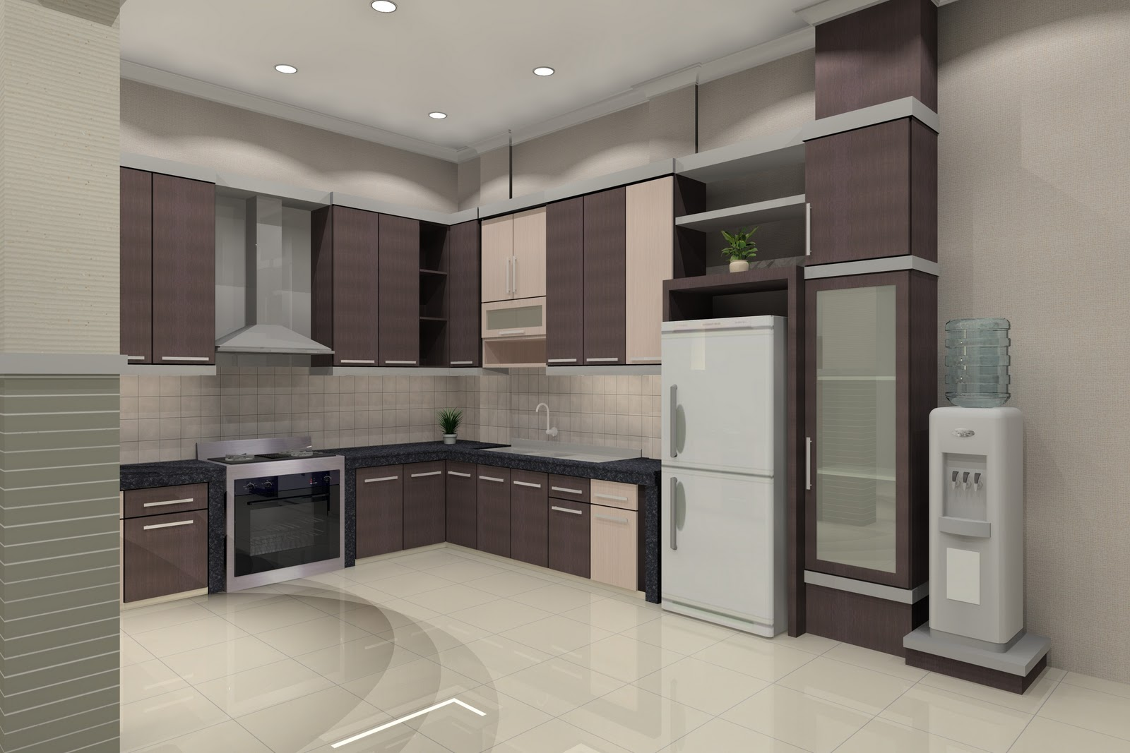 Interior Kamar Tidur ~ Desain Interior Minimalis Modern Idaman