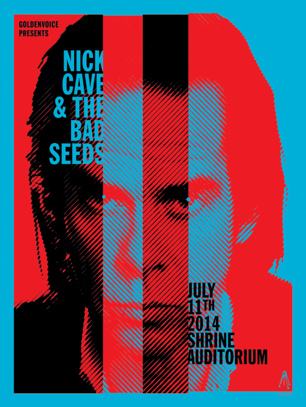 ... POSTER FRAME BLOG: Kii Arens Nick Cave u0026 The Bad Seeds Los Angeles