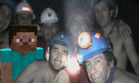 MInecraft se ha colado entre los mineros