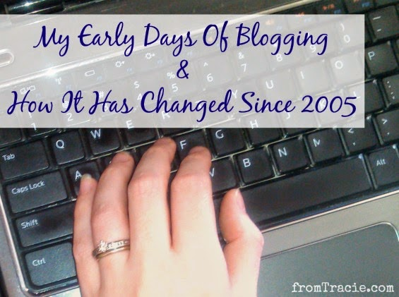 My early days of blogging, and how it has changed since 2005