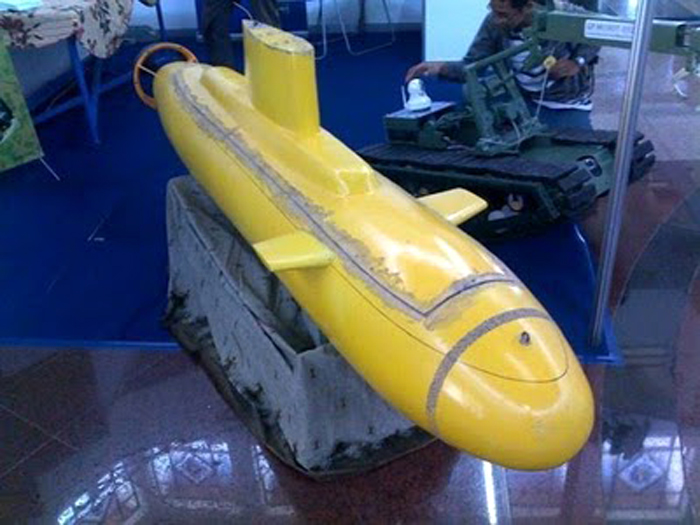 Kapal selam rancangan Indonesia BPPT dan TNI AL