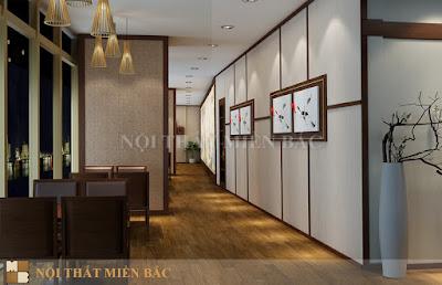 Thiết kế nội thất nhà hàng Nhật Bản cao cấp, sang trọng2