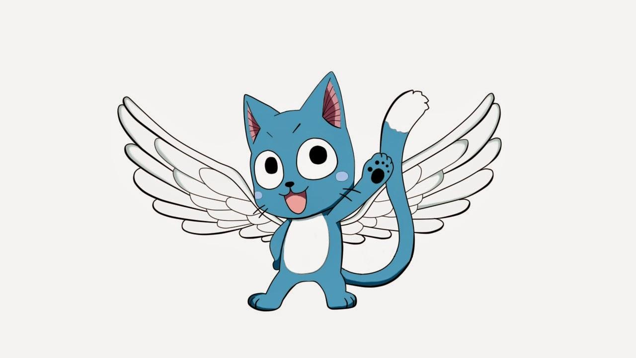 Niki`s Strickecke und mehr :-): :) Happy von Fairy Tail :)
