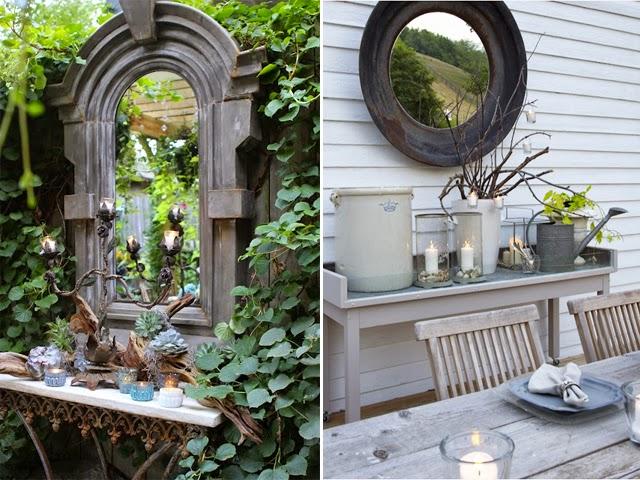 med in france le blog officiel f comme faudrait un miroir dans le jardin. Black Bedroom Furniture Sets. Home Design Ideas