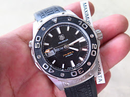 TAG HEUER AQUARACER 500m BLACK DIAL - AUTOMATIC CALIBER 5