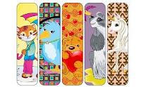 animalitos o dibujos animados, otros frases y también hay para