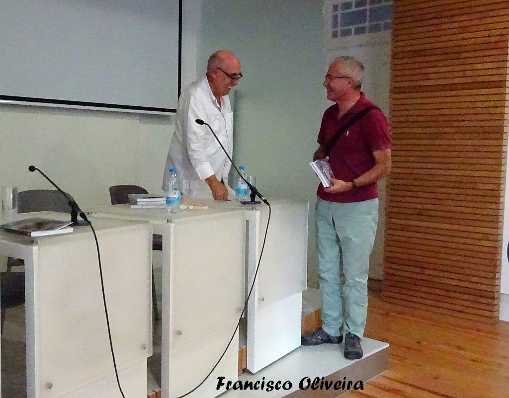 Com o amigo e escritor Rui Canas Gaspar