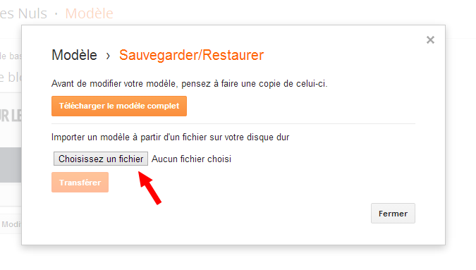 comment installer une template dans la nouvelle interface blogger