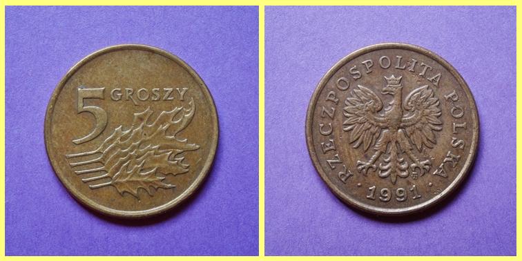 0.05 Zloty Polonia