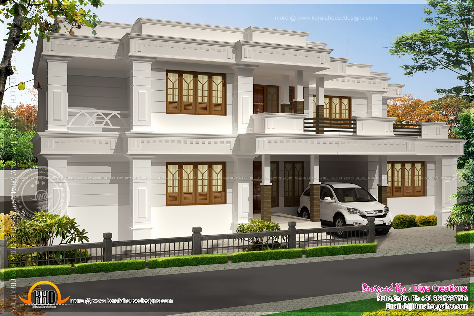 Nice modern house exterior indian house plans for Nice modern house plans