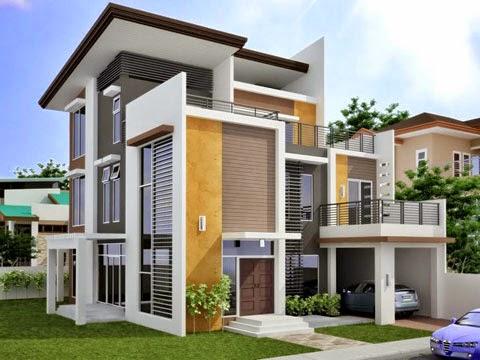 Contoh Desain Rumah Minimalis 08
