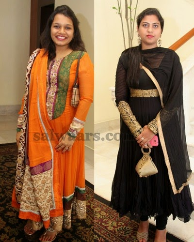 Socialites Salwars in Anarkali Patterned