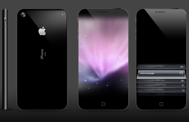 Full Screen iPhone 5 concept