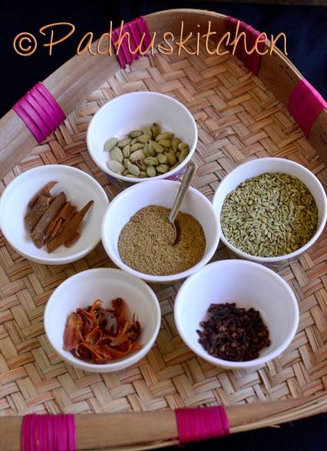 Garam Masala Recipe-Kerala