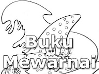 Download Buku Mewarnai tema Finding Nemo