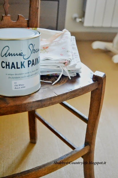 Old white Chalk Paint, Annie Sloan