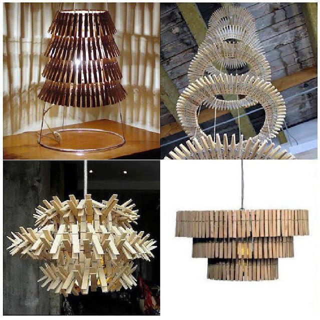 DecoraXpoco: LAMPARAS ORIGINALES RECICLANDO