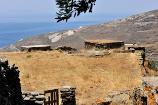 dry climate greek islands