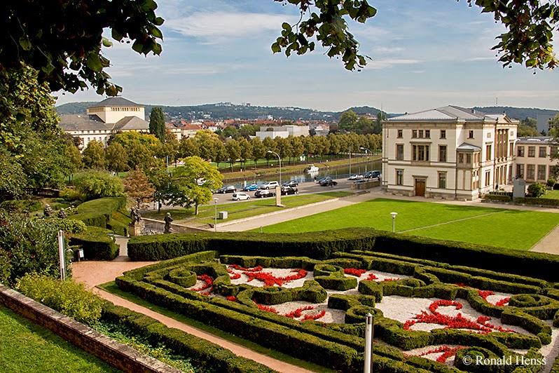 Saarbrücker Schloss, Schlossgarten, Landtag, Saar, Staatstheater