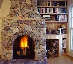 Fotos y dise os de chimeneas chimeneas rusticas - Chimeneas artificiales decorativas ...