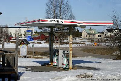 Junosuando, bensinmack, mack, bensin, tapp, bensintapp
