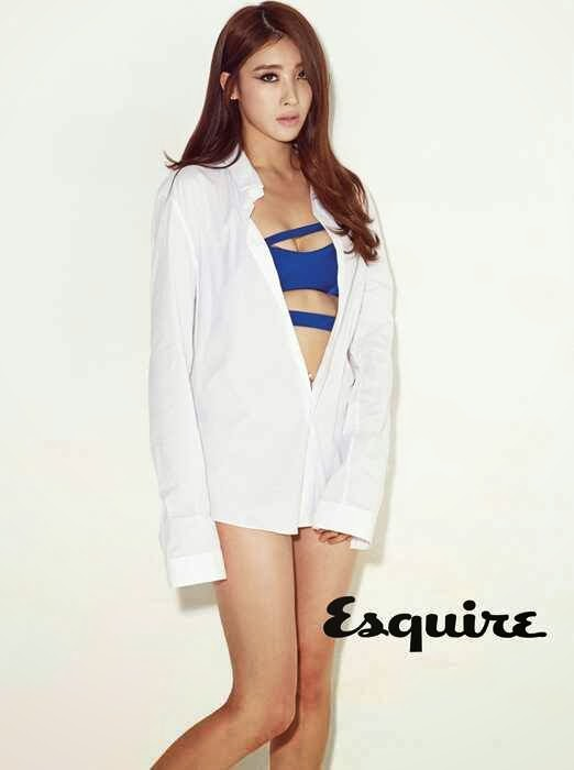 9Muses reveal sexy pictorial for Esquire   Daily K Pop News