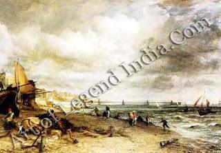"""Chain Pier, Brighton"" 1827 50"" x 72"" Tate Gallery"