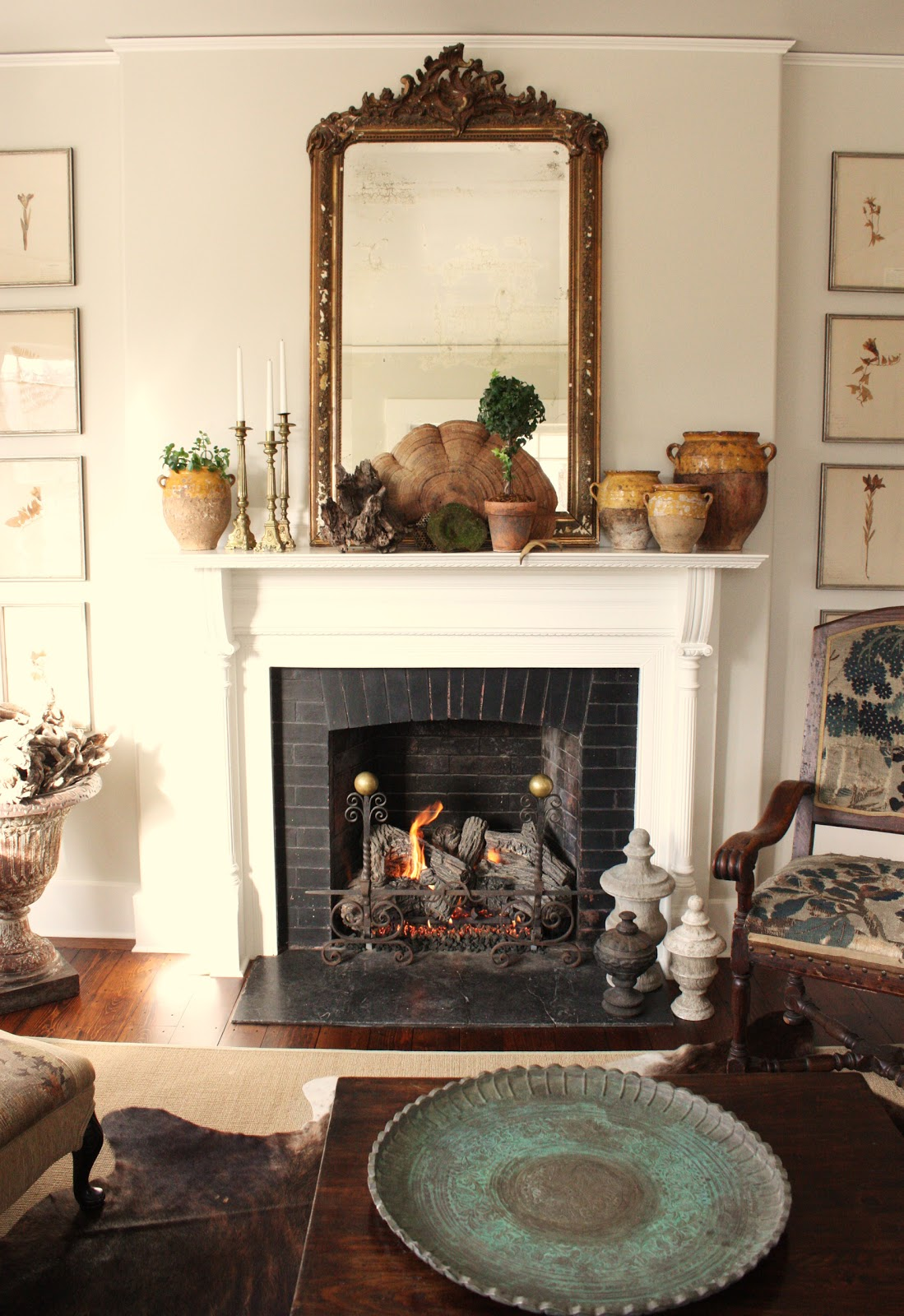 For The Love Of A House The Winter Mantel