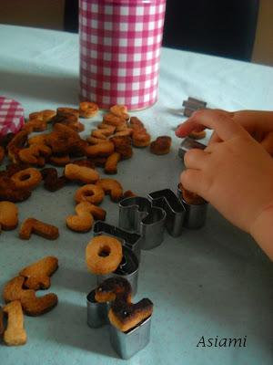 Ciasteczka cyferki i dopasowywanka