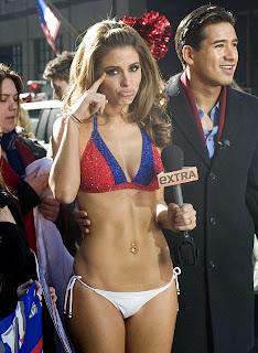 Maria Menounos Bikini, Super Bowl Bikini