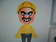 The most pointless mii yet, because if I wanted to play as Wario (and I .