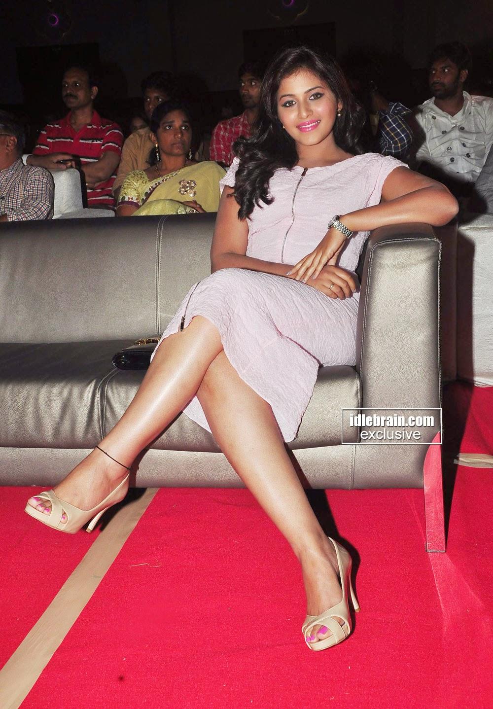 actress crossed legs