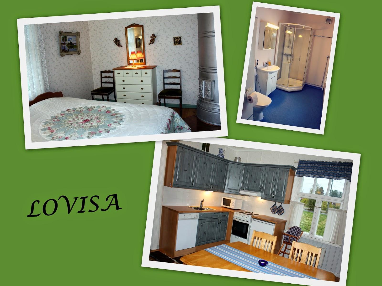 Jepuan vierasmökit jeppo gäststugor guesthouses ferienhauser