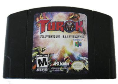 Turok Rage Wars Black Nintendo 64