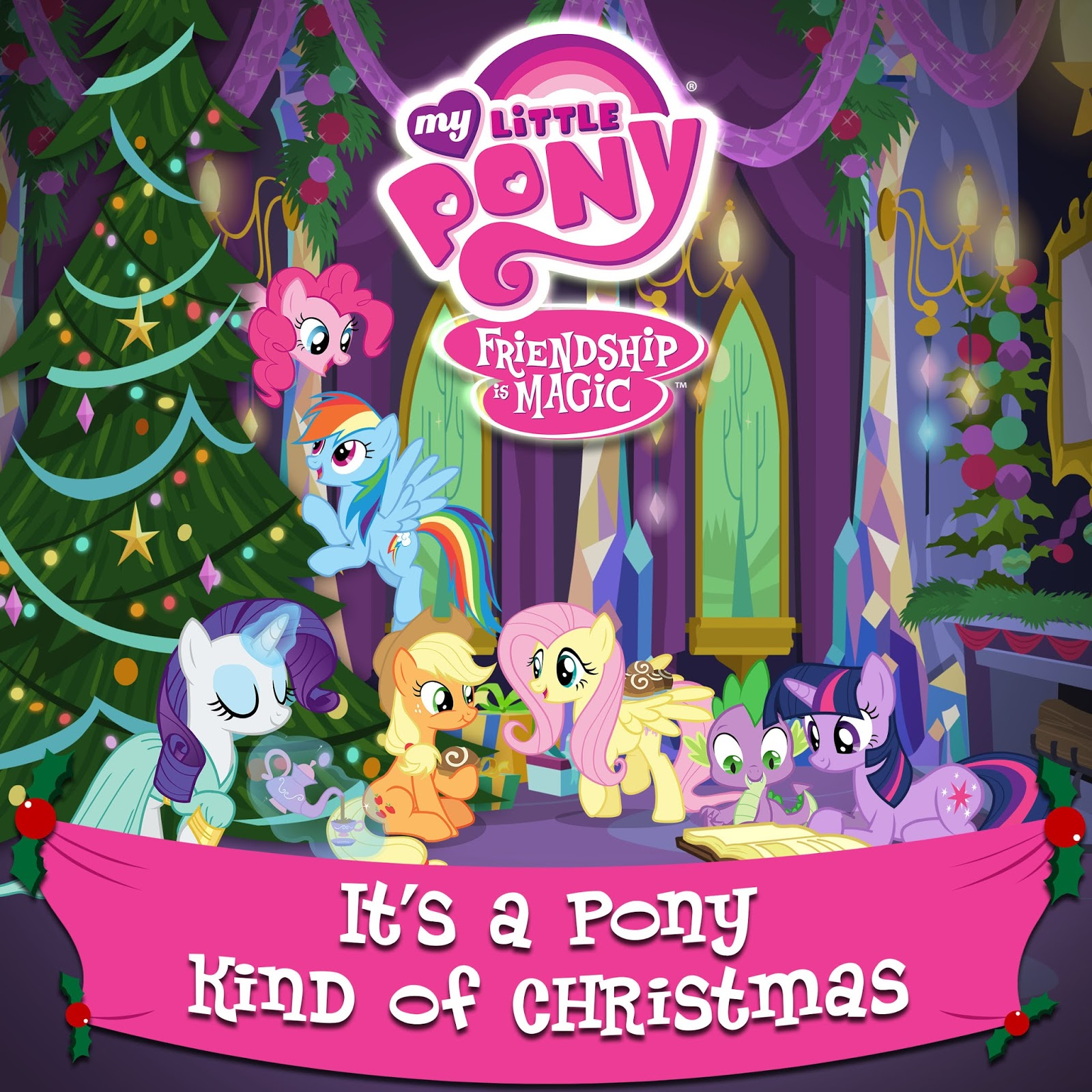 horse news my little pony christmas carol album to be released