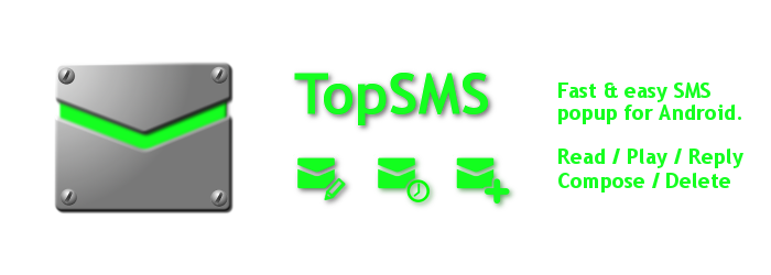 TopSMS - fast & easy SMS app for Android