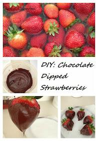 Valentines treat, chocolate, strawberries