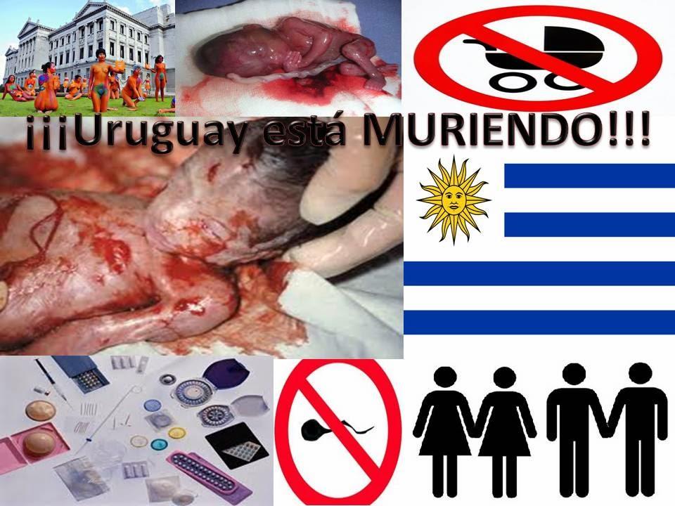 Alto al geNOcidio de nuestro pueblo oriental (uruguayo)