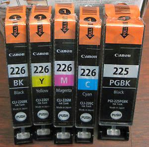 Картриджи Canon различных типов