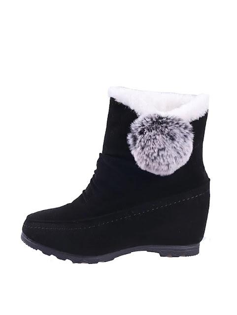 Decor Faux Fur Lined Boots