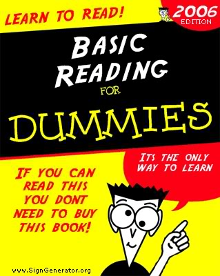 [Image: ReadingForDummies.jpg]